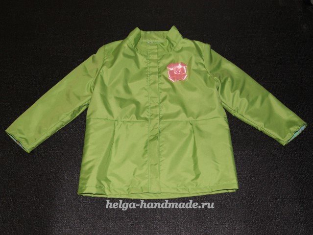 Куртка для девушки своими руками