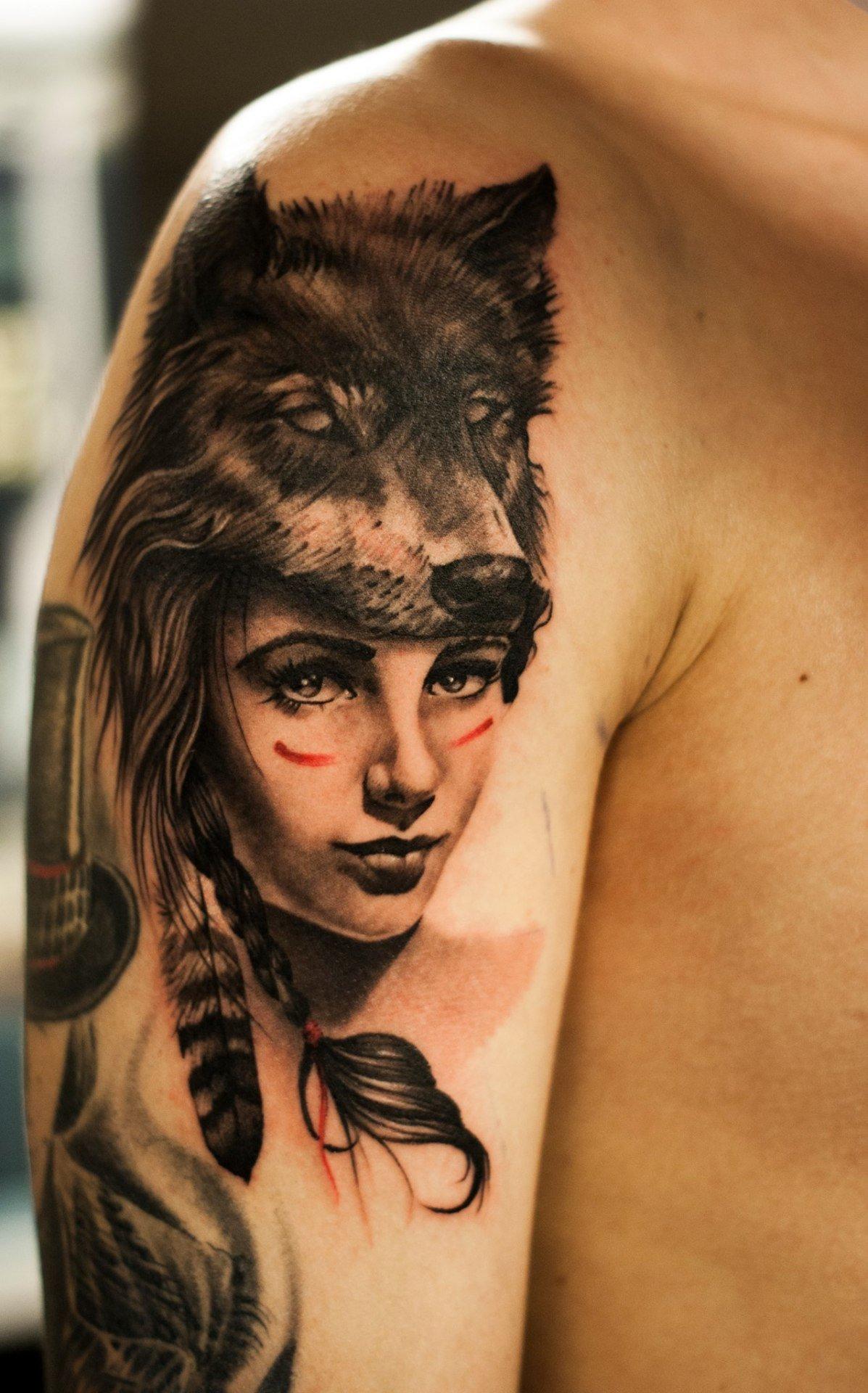 что означает тату волчица течение
