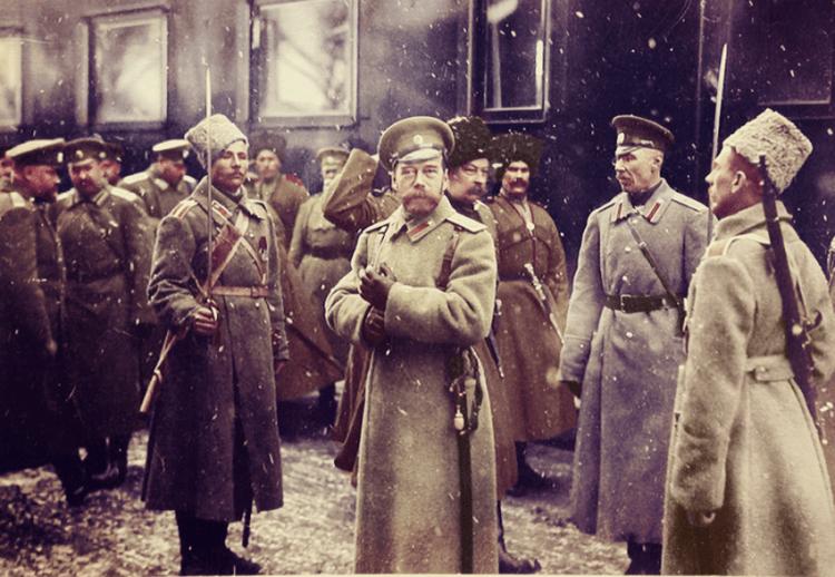 Колоризированные фотографии последнего императора Российской империи Николая II и его семьи