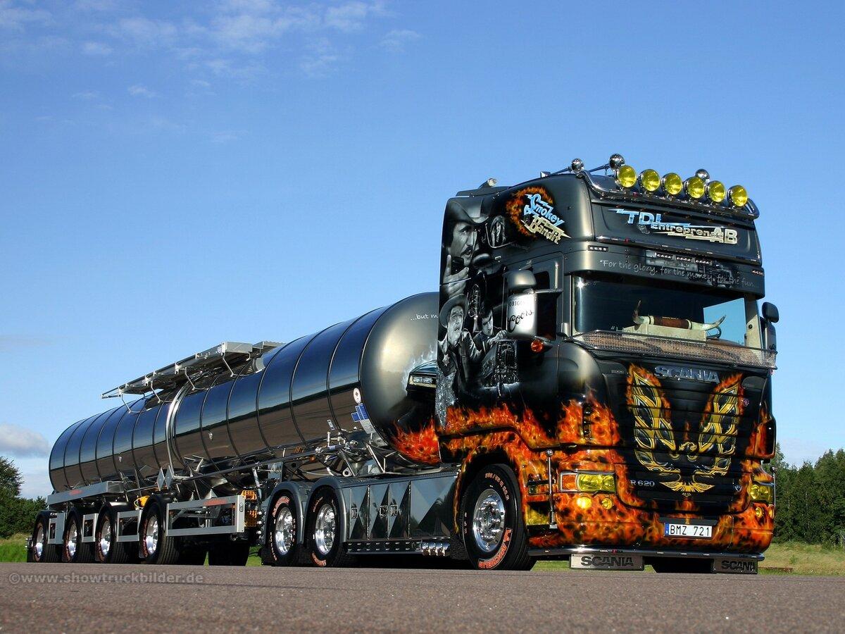 ней картинки крутых грузовиков также как