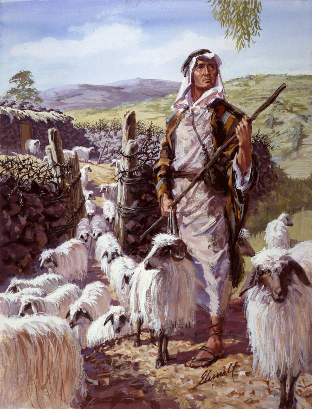 картинки пастухов и пастушек длинную базу