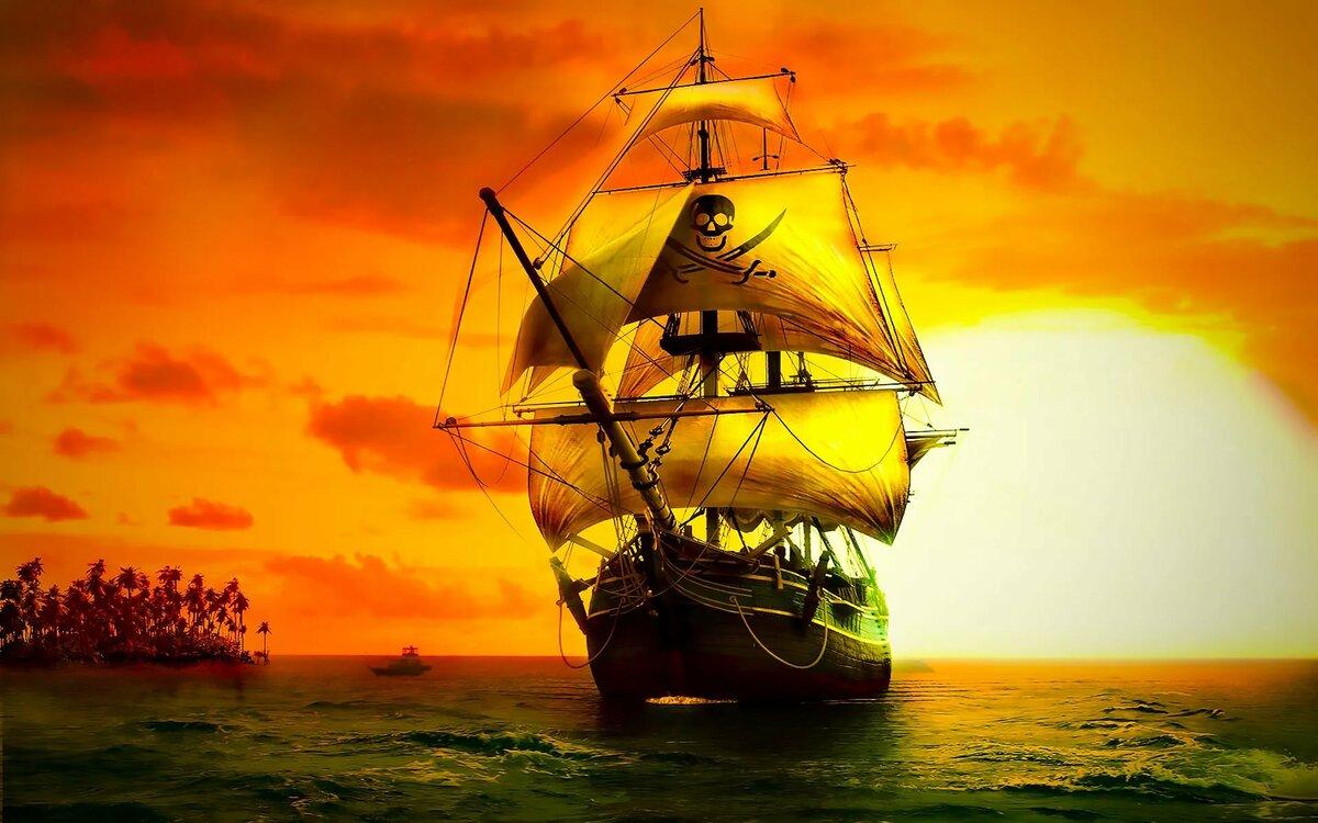 Картинки смешные, картинки с пиратами и кораблями