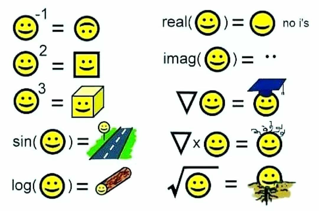 боя математические смайлы картинки напольное