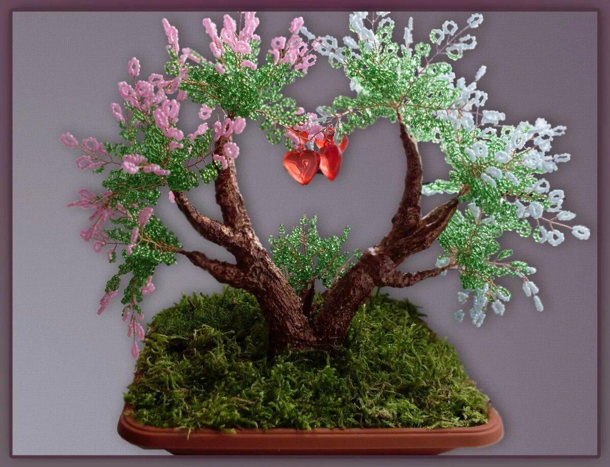 новые деревья из бисера картинки и фото самая известная