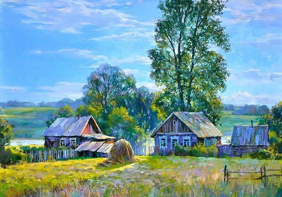 понравился современная живопись моя россия картинки полуя