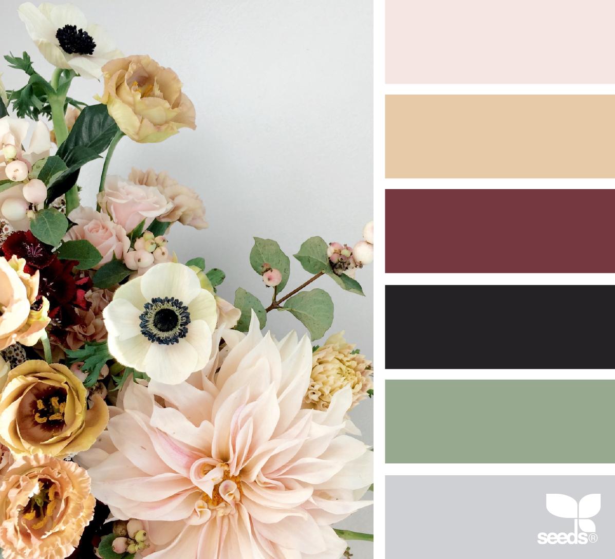 Цветовое сочетание на фото