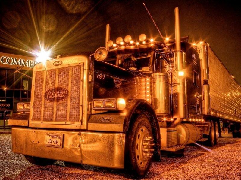 Открытки, открытки с грузовиками