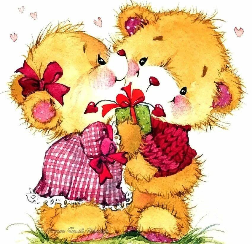 Рисунки медвежат красивые вполне