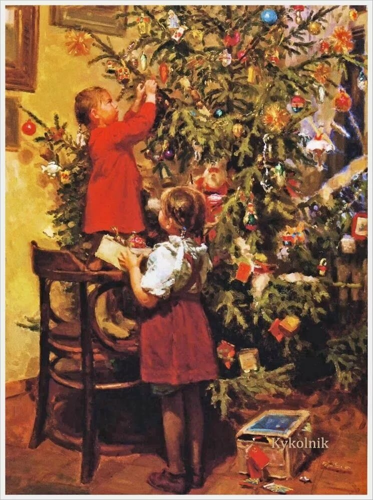 Котоматрица, картинки ссср рождество