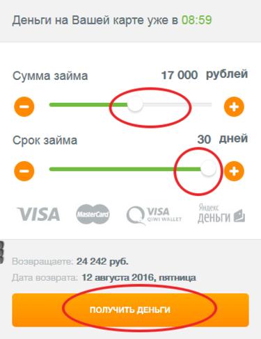Кредит от частного лица без предоплаты и залога в москве личная