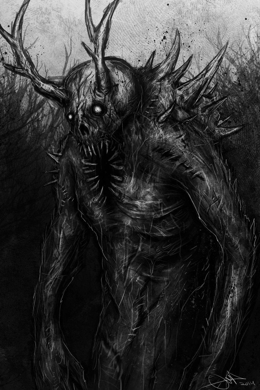Картинка ужасный дьявол