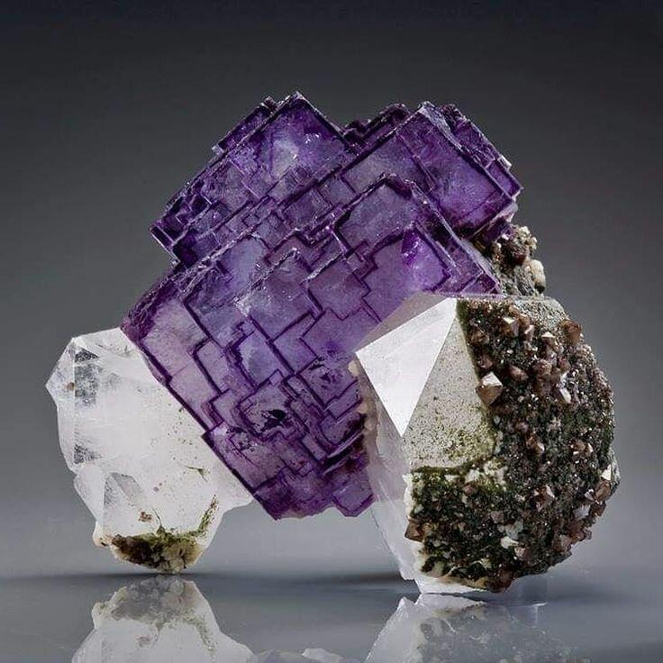 природные минералы картинки оформлении