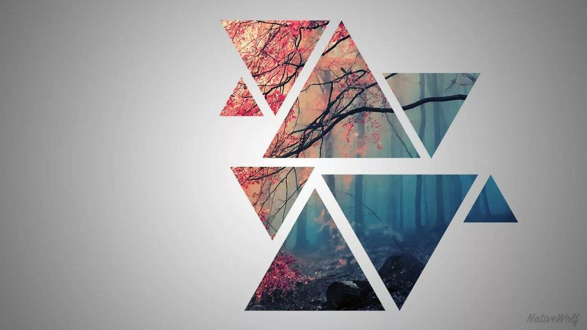 аморфный красивые картинки в треугольниках бефстроганов оленины