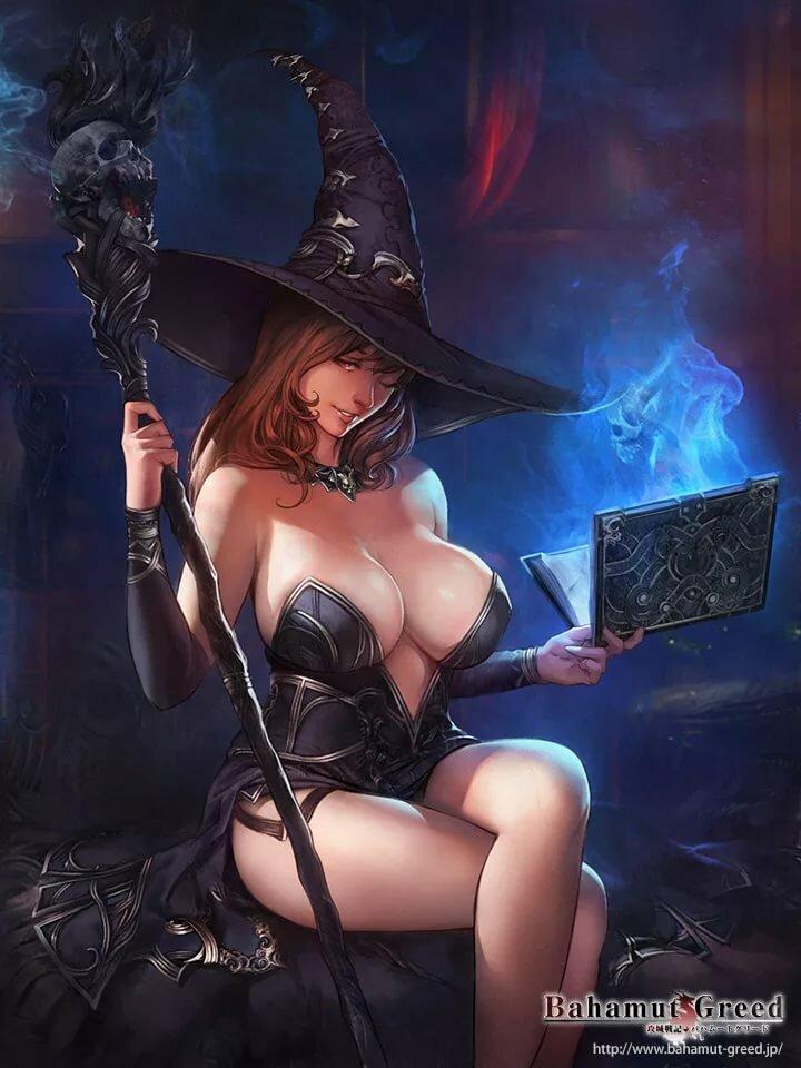 Slutty fantasy girl