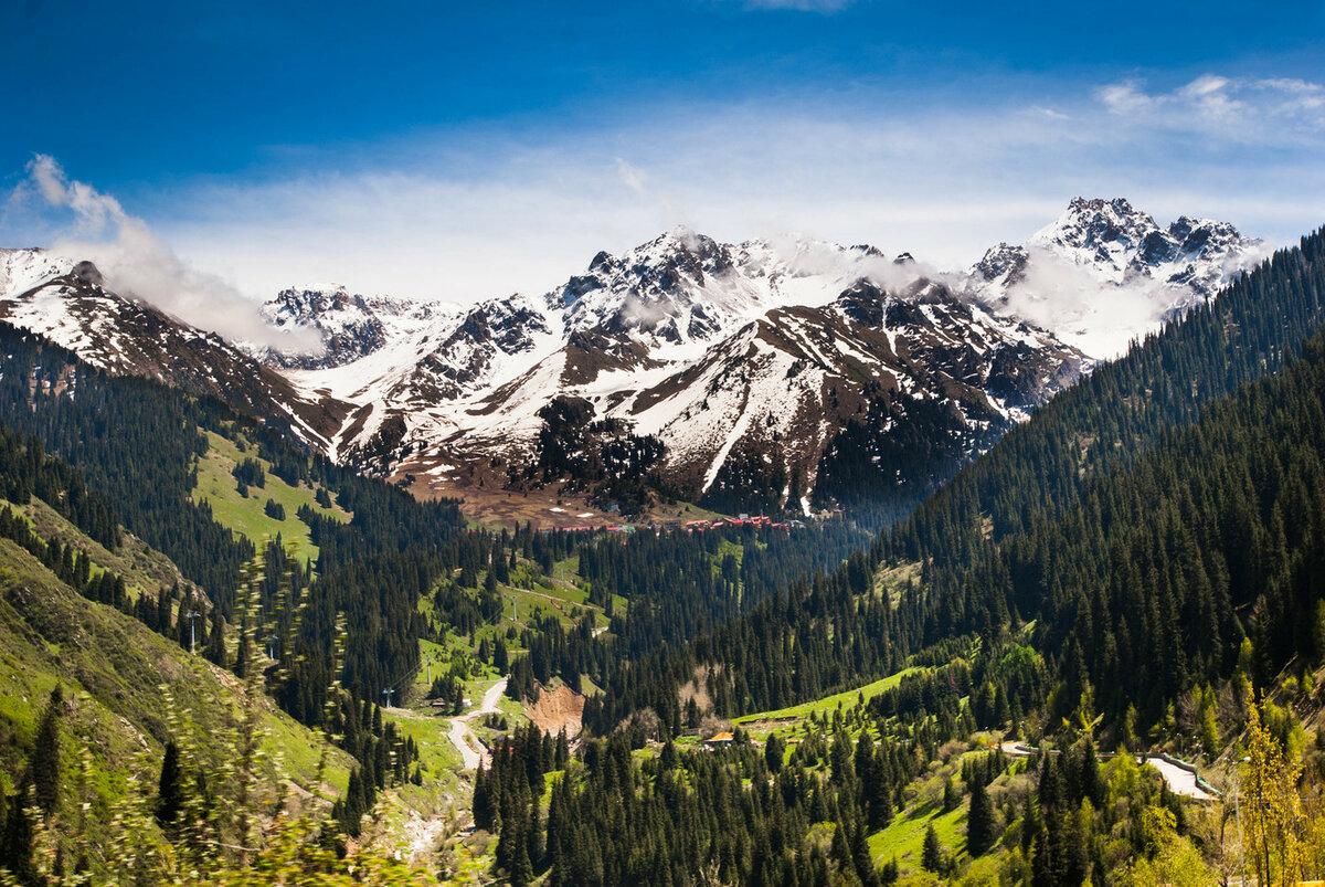 Картинка гор казахстана