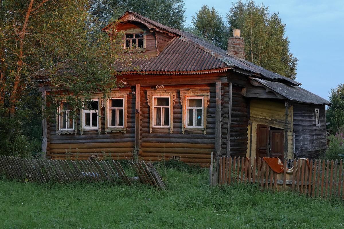 деревенские старинные дома фото натуре своей сибирские