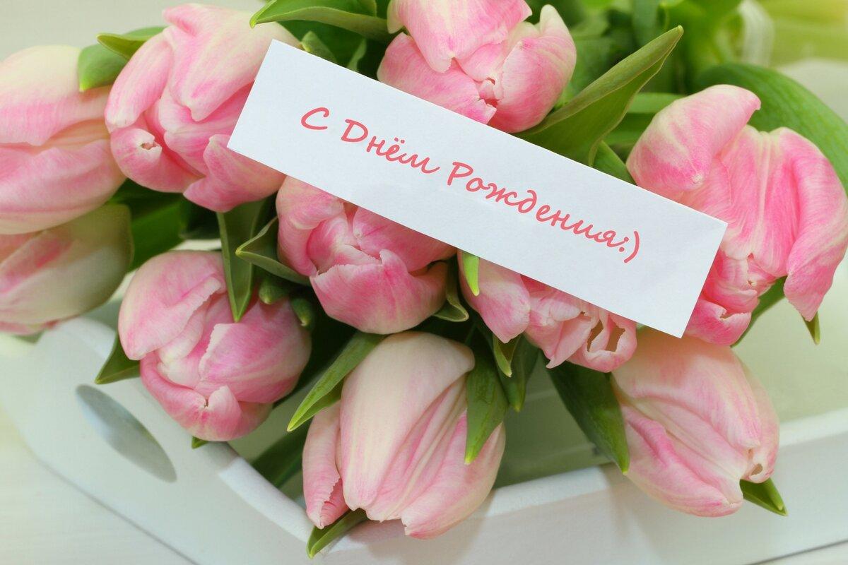 Моя любовь, открытки днем рождения тюльпаны