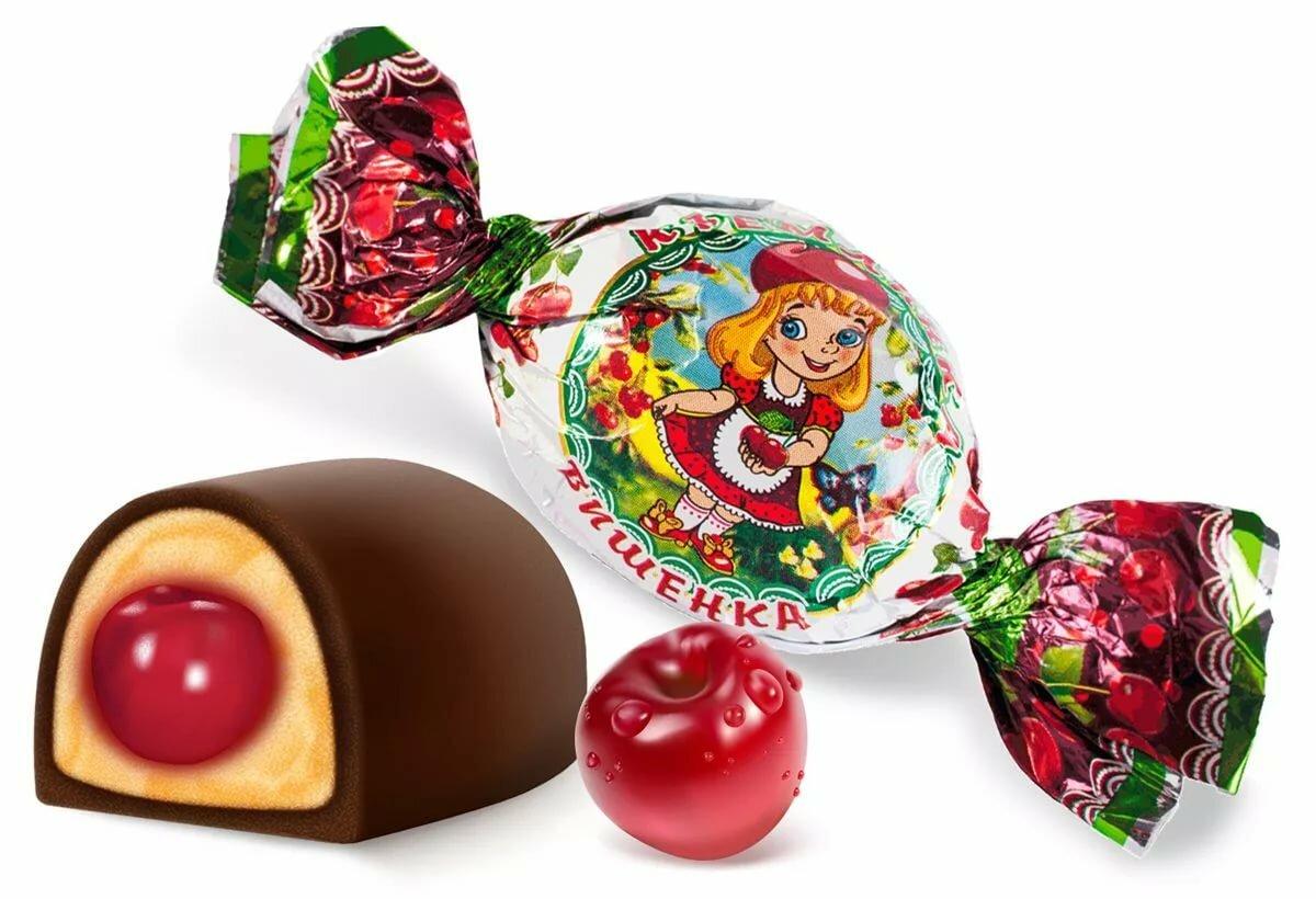 Картинка конфета в фантике