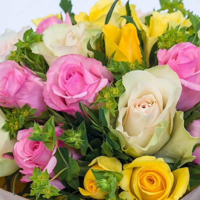 Картинка букет цветов привет