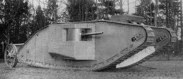 15 сентября 1916 года произошла первая в истории мировых войн танковая атака