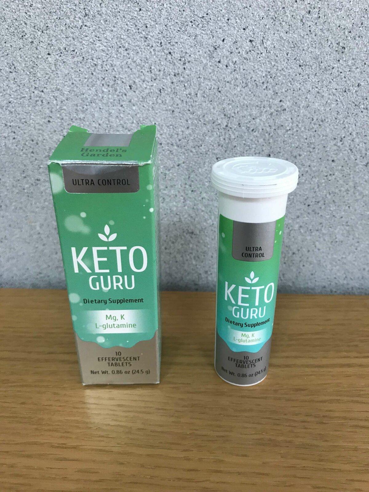 Keto Guru шипучие таблетки для похудения в Караганде