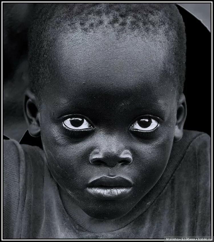 Фото дети негры