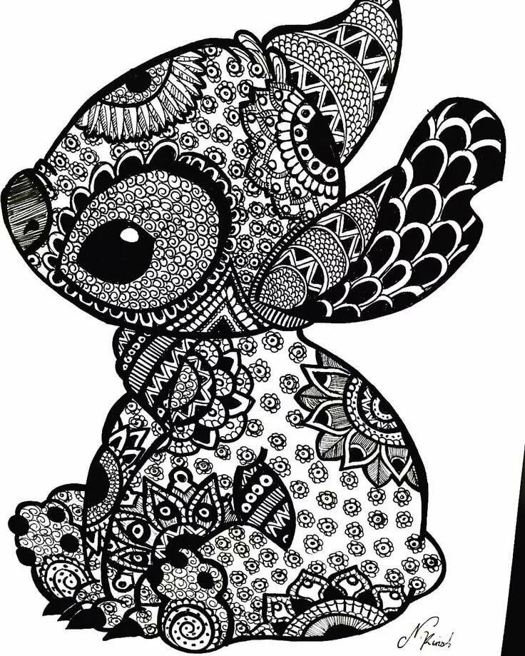 Красивые черно-белые рисунки для распечатки был для