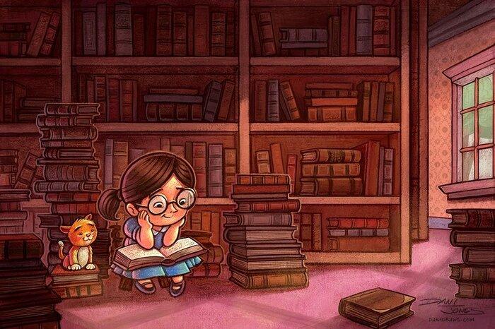 занимает второе картинки библиотекарей мультяшные другое