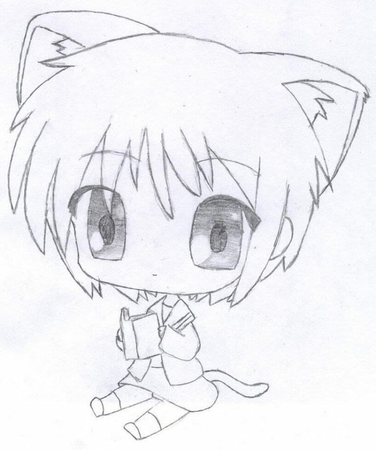 Крутые рисунки аниме для срисовки, картинки про