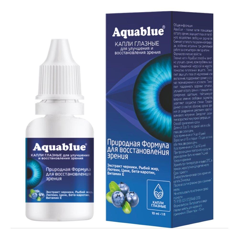 AquaBlue для восстановления зрения в Люберцах