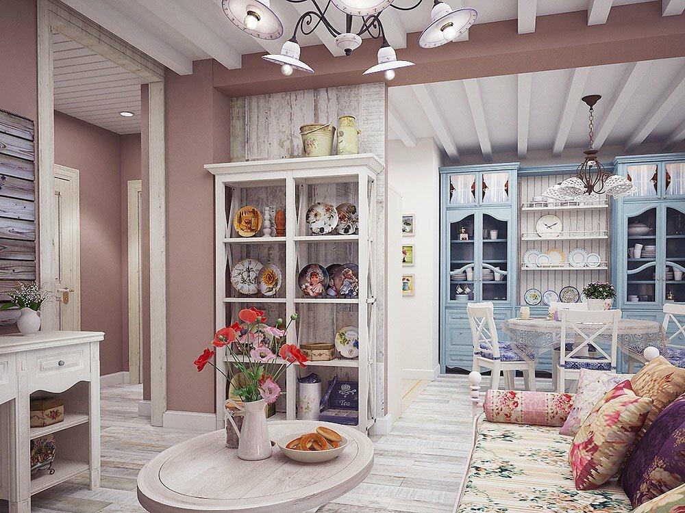 поиска дизайн квартир в стиле прованс фото домов профилированного бруса