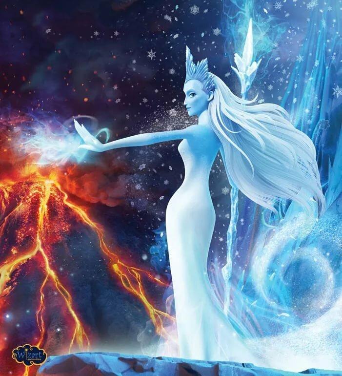 Картинки снежная королева зазеркалье