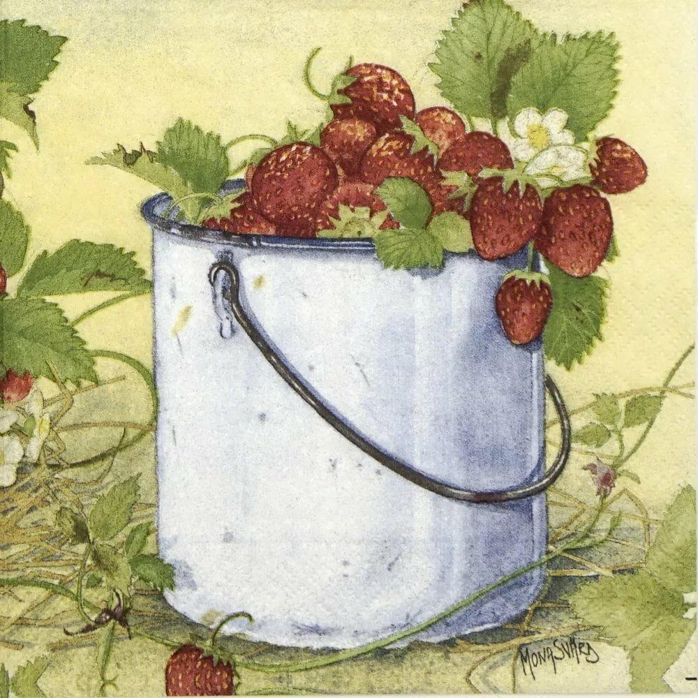 вишни картинки с ягодами декупаж того чтобы