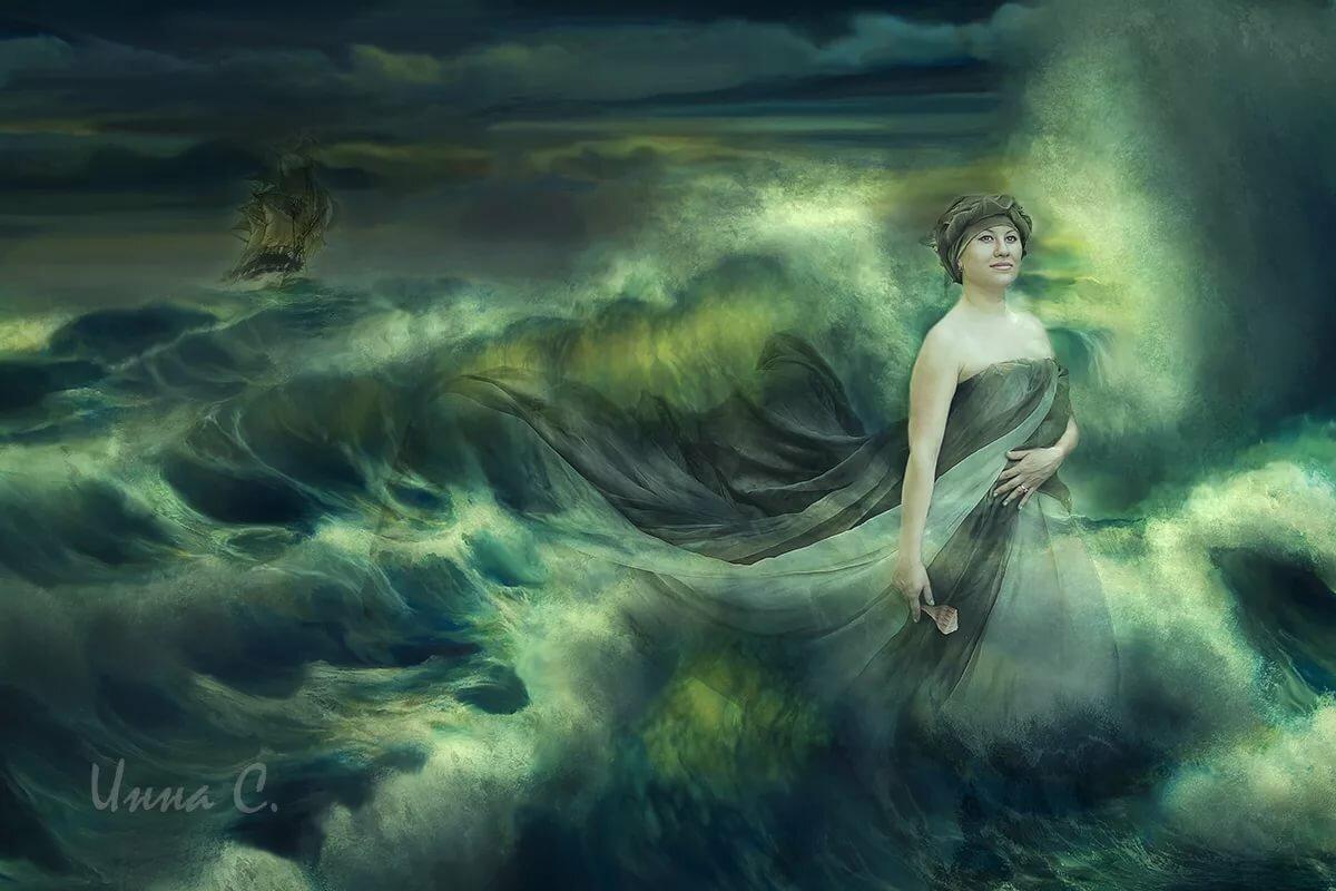 нимфа морская картинки для