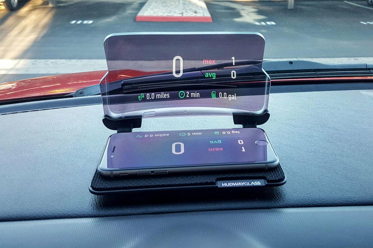 HUD мобильный навигационный дисплей в Мариуполе