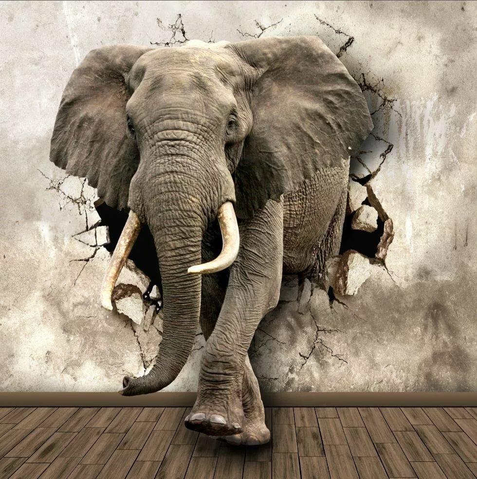 Постеры со слонами