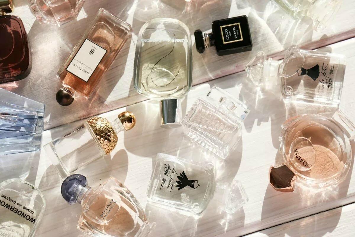 Брендовая парфюмерия в картинках