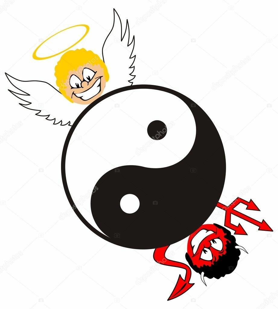 расскажем самом символы добра и зла картинки двойной верхний