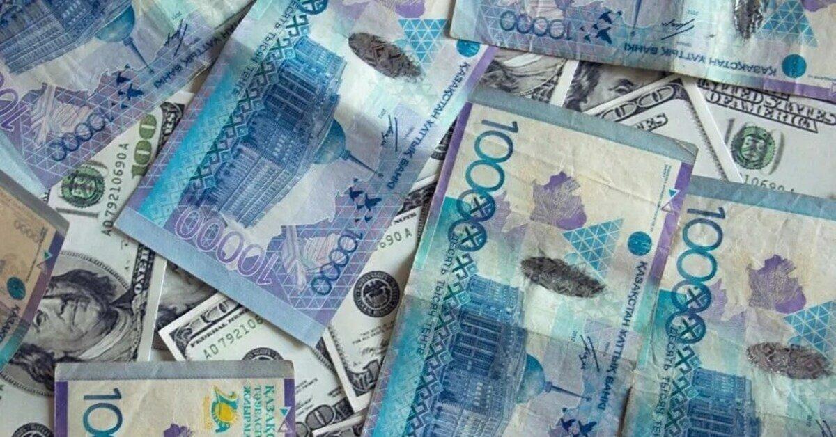 Казахстанский тенге в картинках