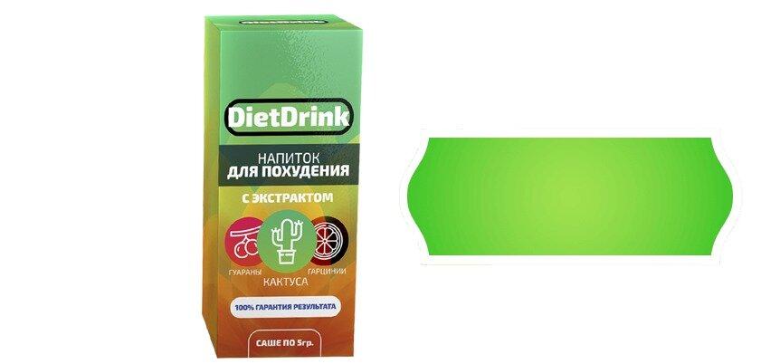 DietDrink напиток для похудения в Благовещенске