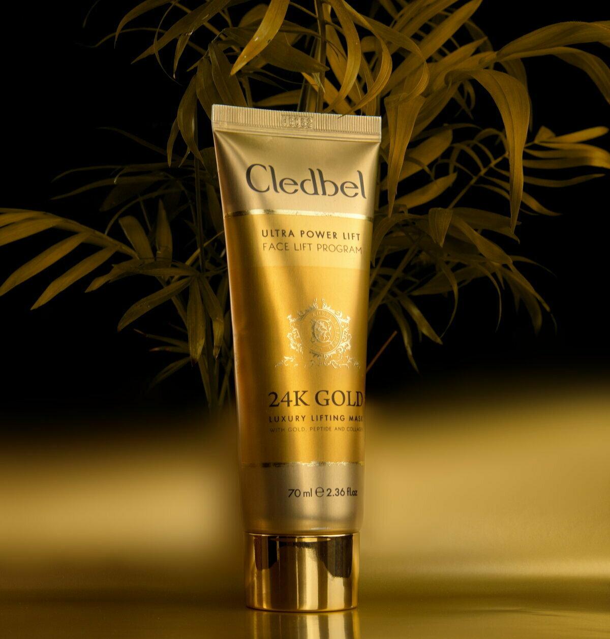 Маска-пленка Cledbel 24K Gold с лифтинг-эффектом в Ивано-Франковске