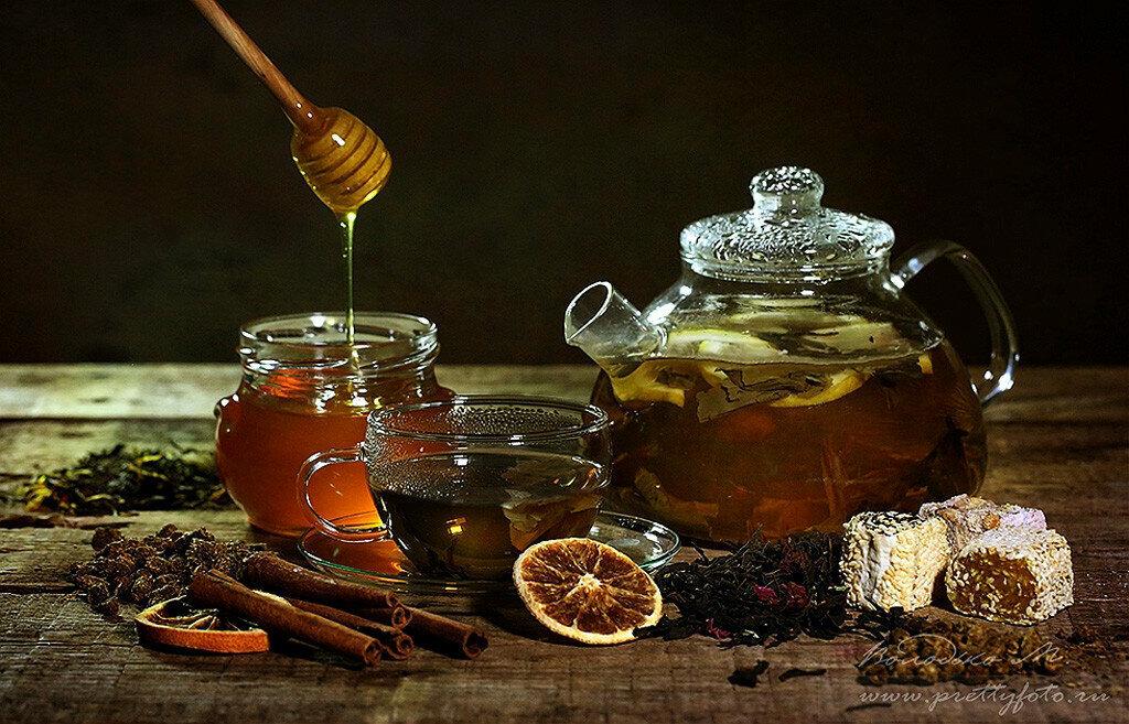 Картинки чая с медом