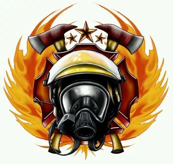 Эмблемы пожарных картинки