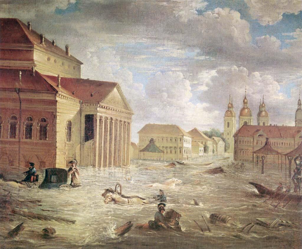 19 ноября 1824 года произошло крупнейшее в истории Санкт-Петербурга наводнение