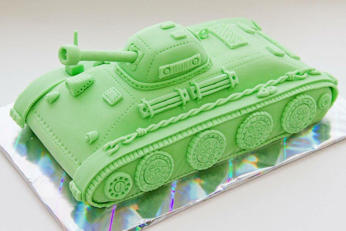 Картинка танка торт
