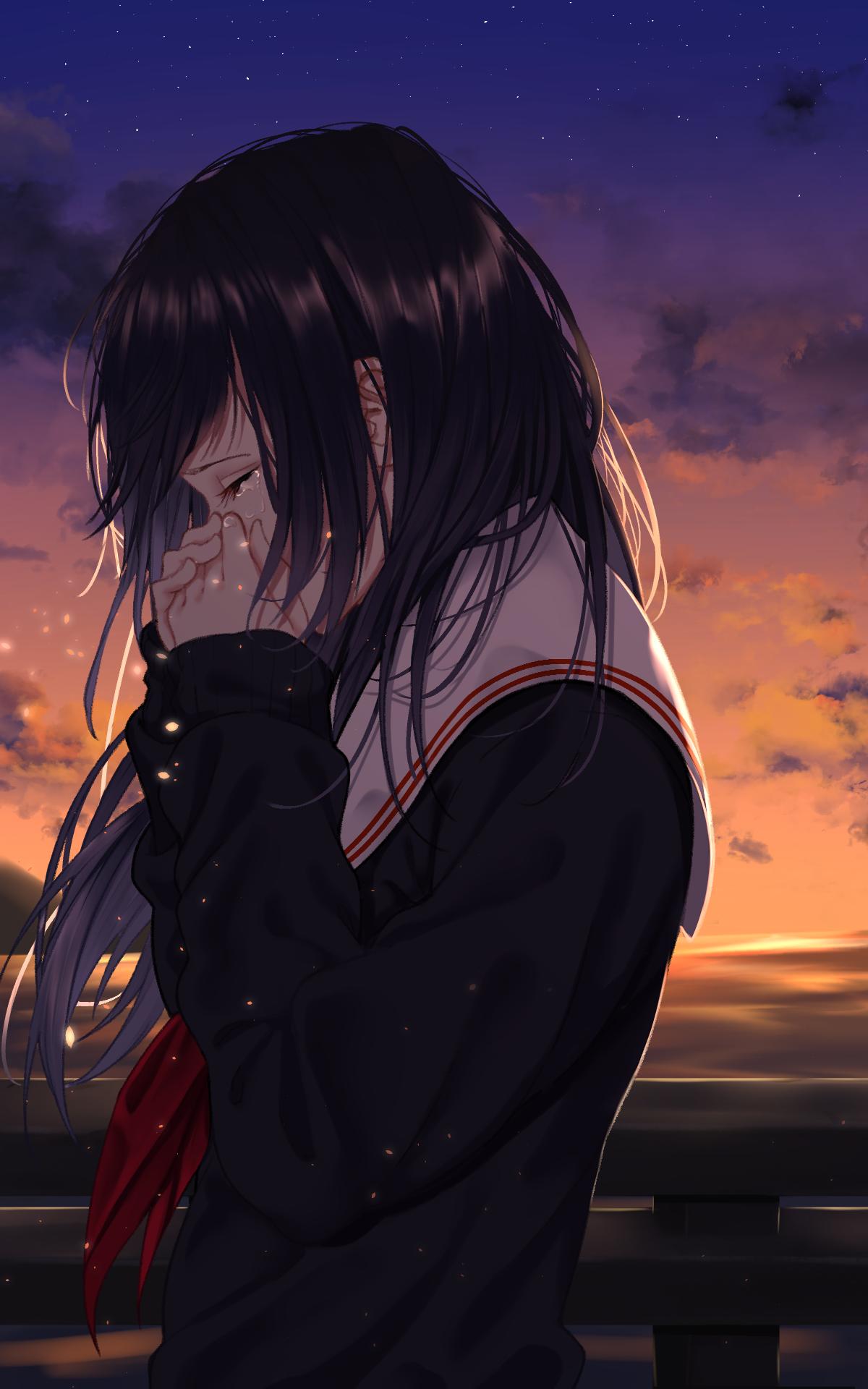 Фото аниме одиночество