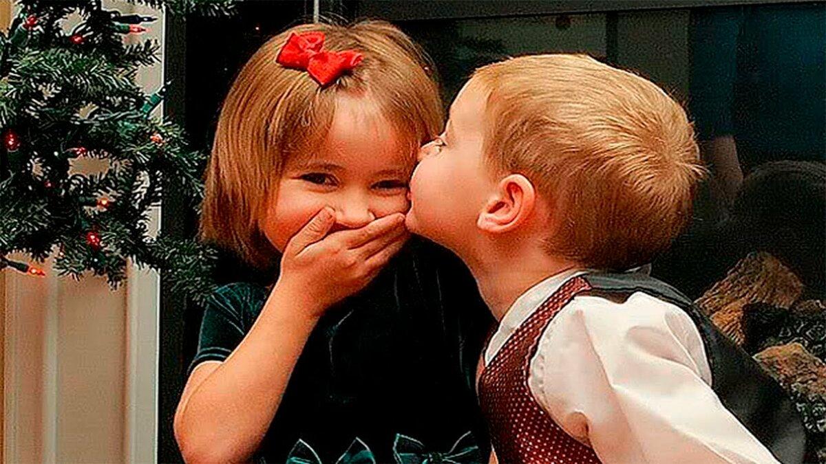 Прикольные картинки про поцелуи