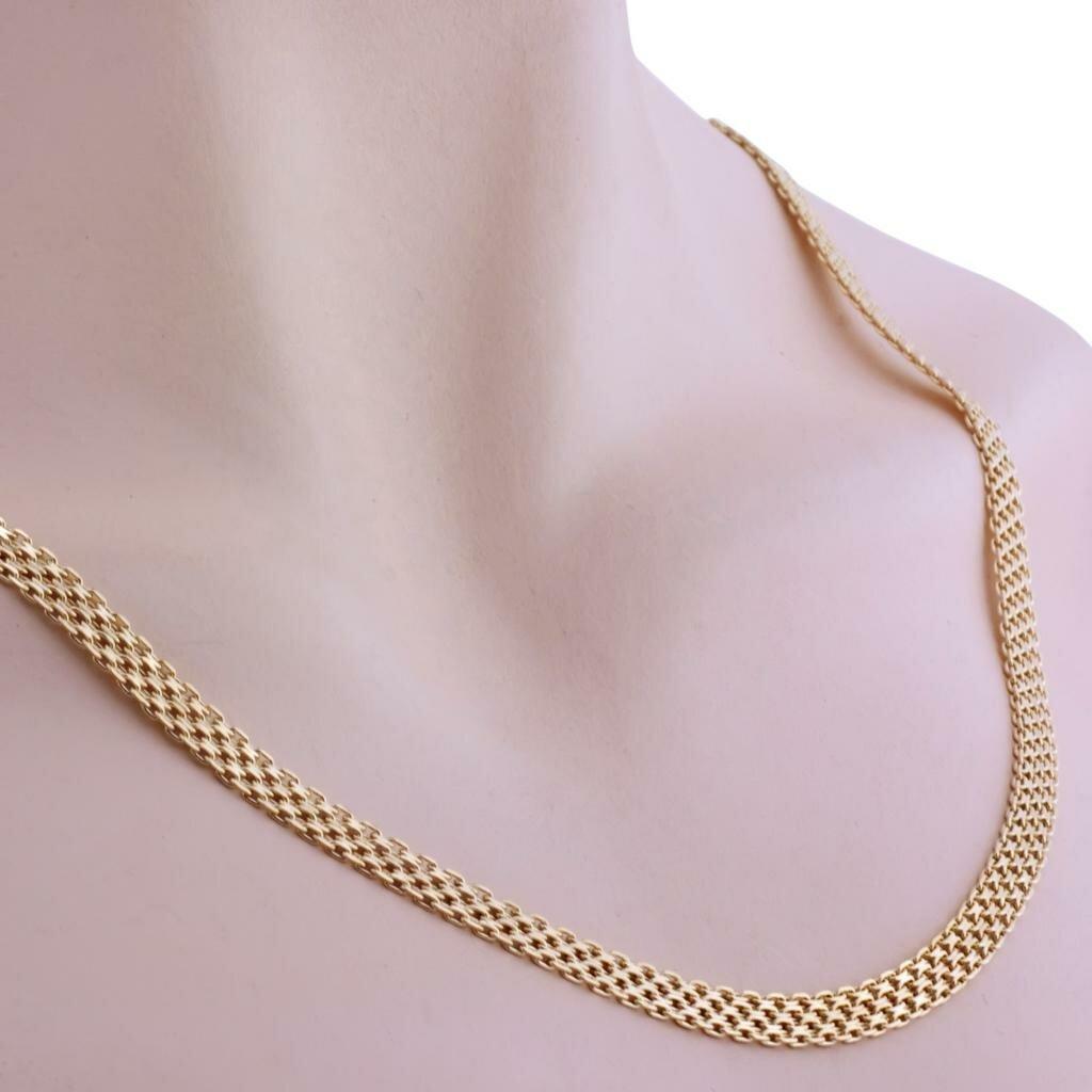 женские цепочки из золота на шею фото магазинах