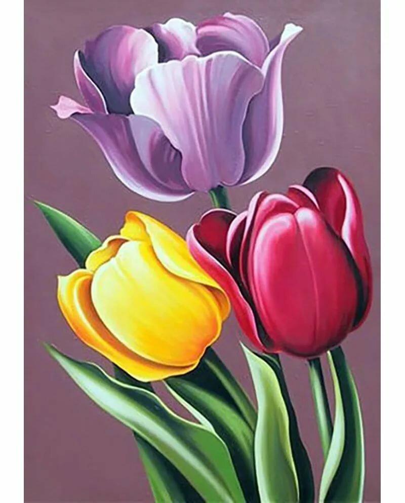 красивые картинки красками цветы