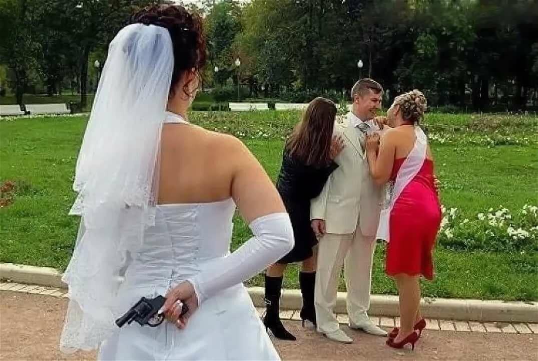 комиксы, прикольные картинки на свадьбу ах это свадьба что все, что